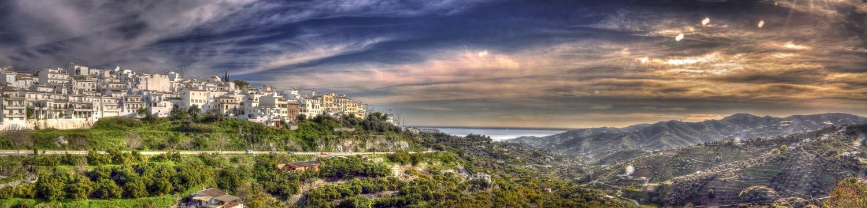 Panoramic view of Mijas by Rod Collett