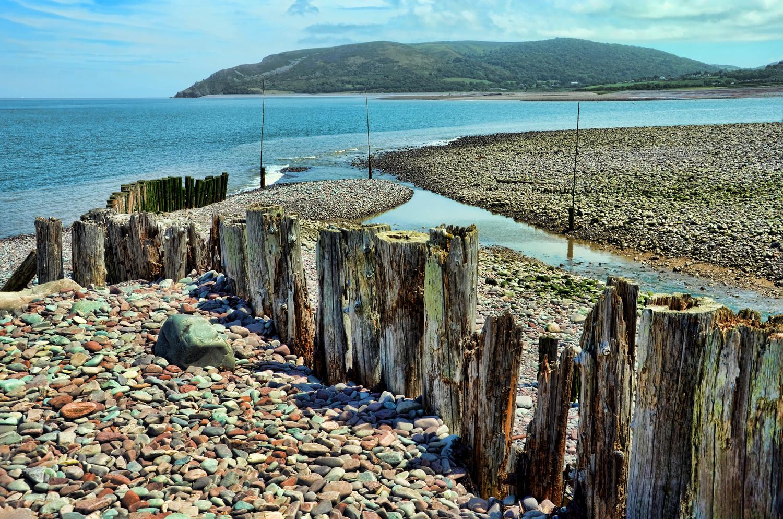 A view along Porlock Weir by Rod Collett