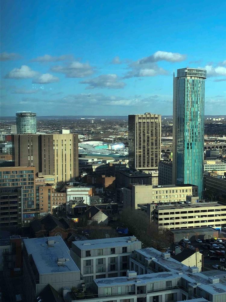 An alternative  view of Birmingham City Centre by Rod Collett