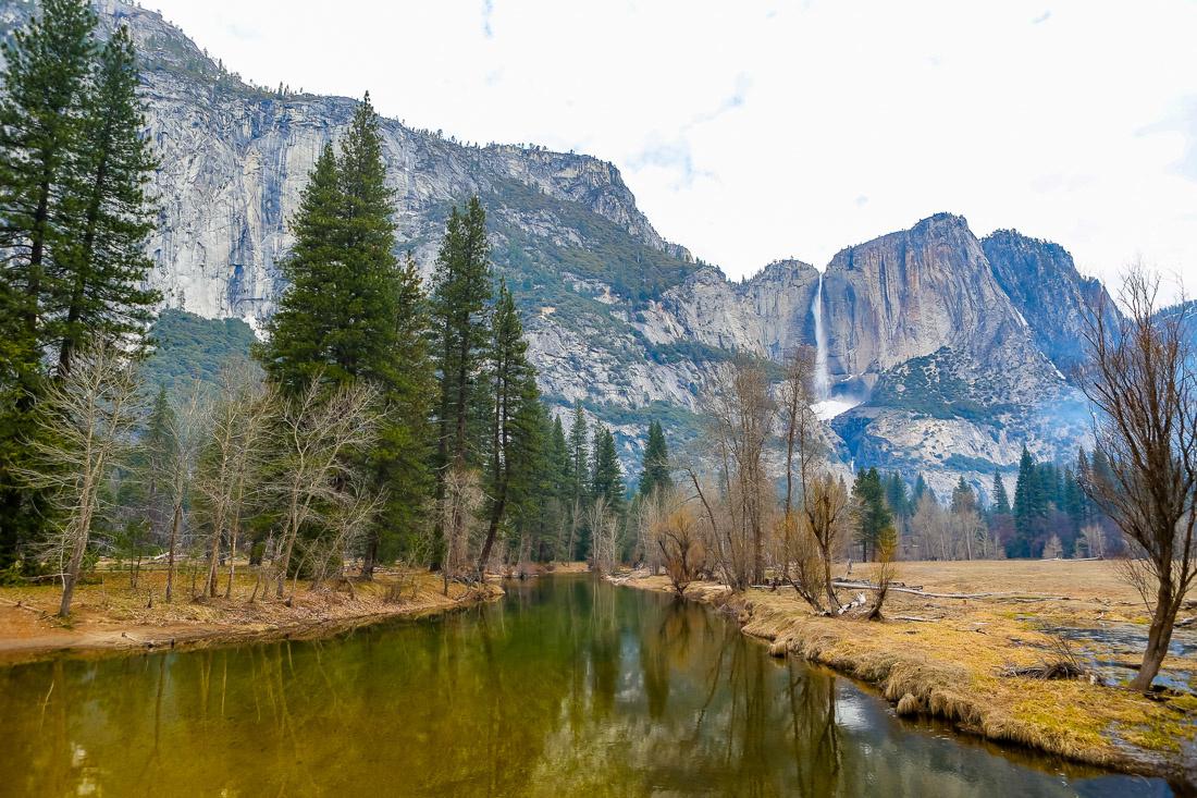 A grey day at Yosemite by Richard Chubb