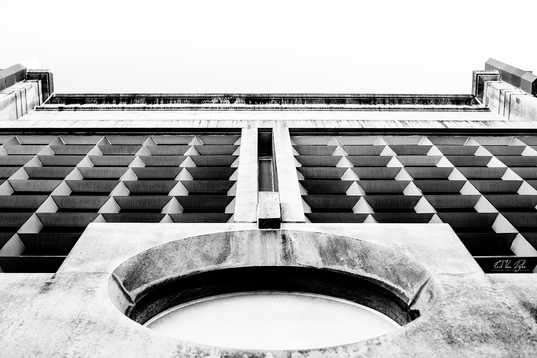 Black and White Wallside by Erik Van Dyke