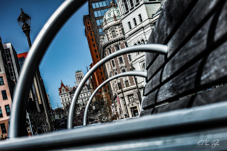Albany through the arches by Erik Van Dyke