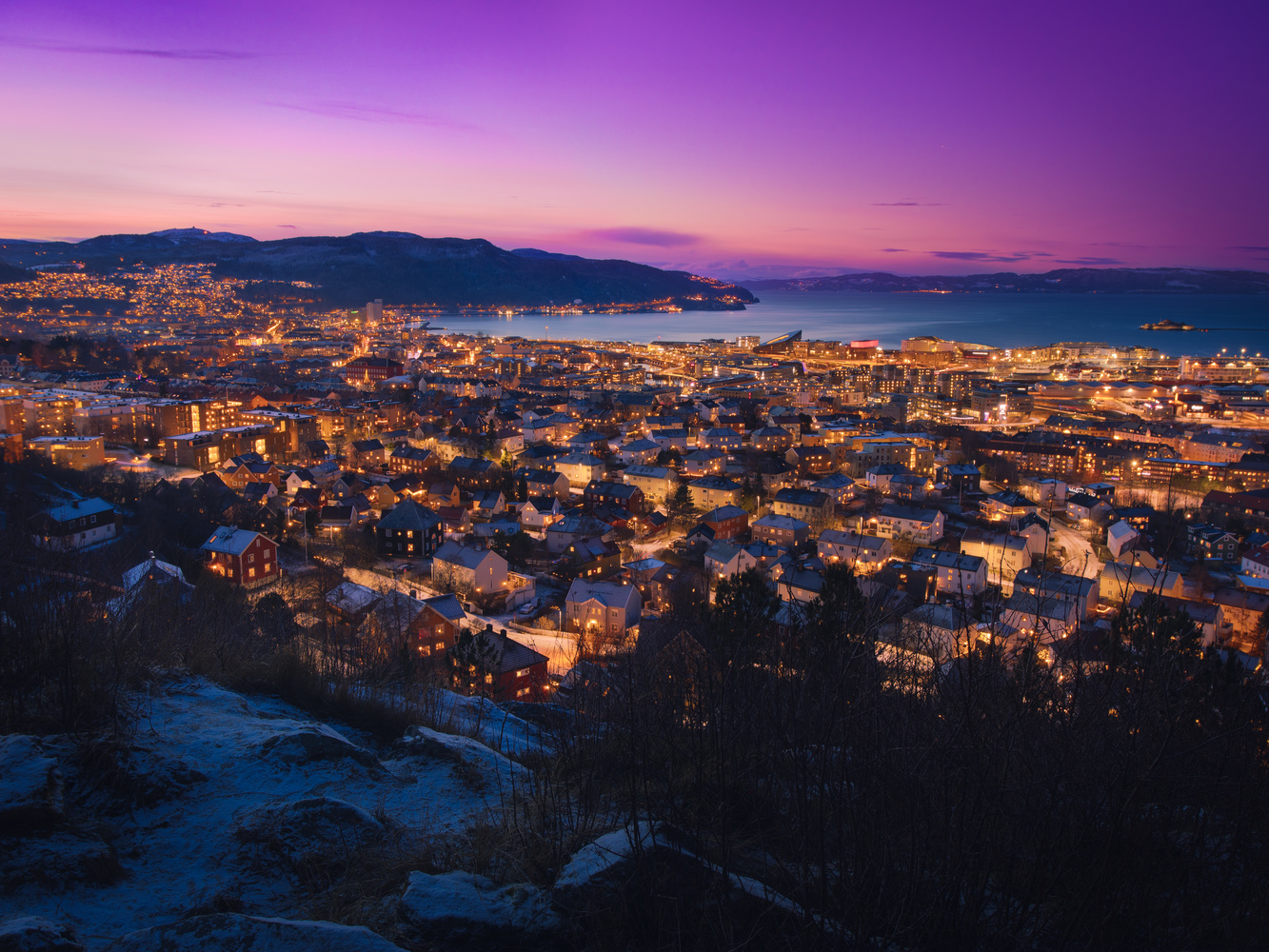 Trondheim, Norway by Andreas Brilke