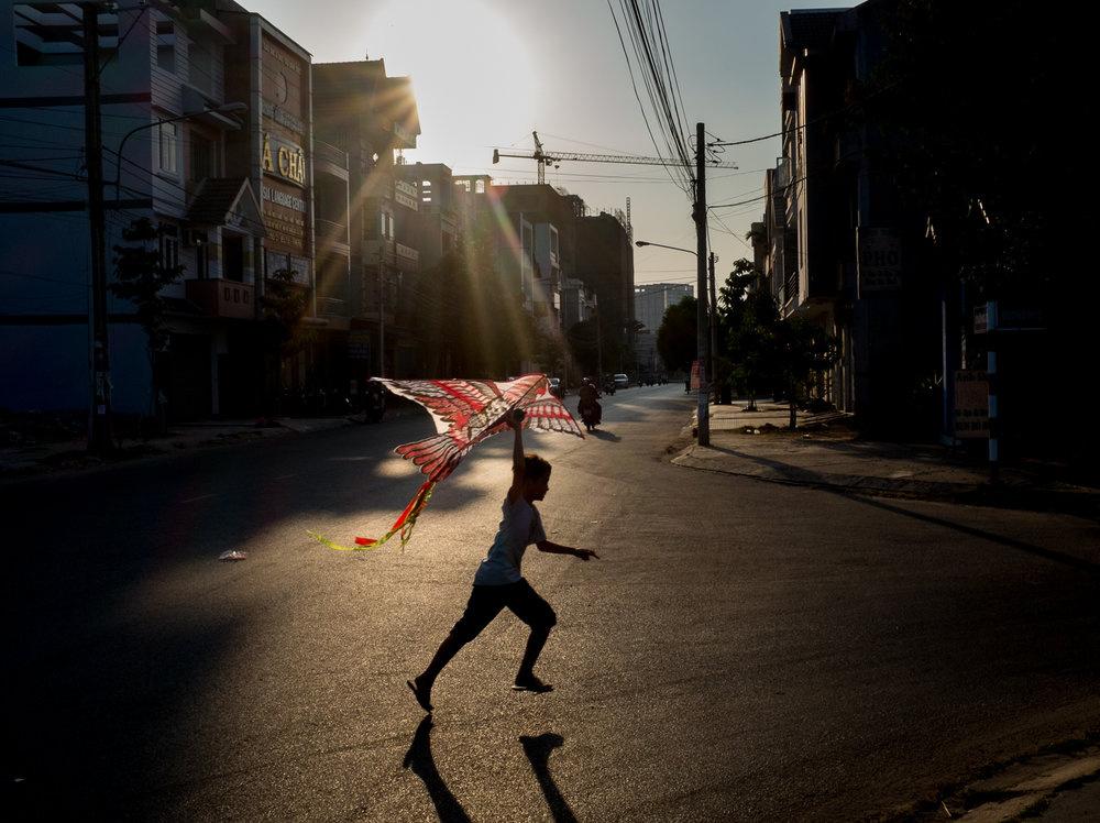 kite runner by Lukas Kuzma