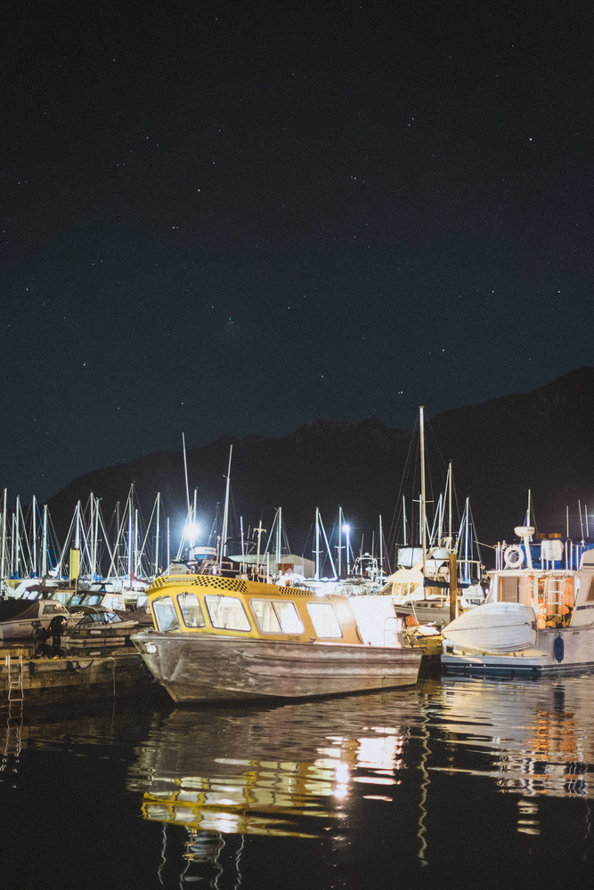 Clear night at Horseshhoe Bay by Robin Férand