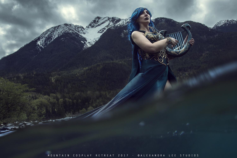 Goddess Nayru by Alexandra Brumley