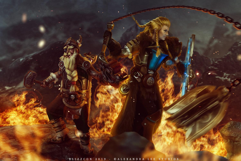 Overwatch Ragnarok by Alexandra Brumley