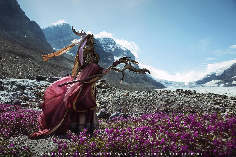 Dragon Priest I by Alexandra Brumley