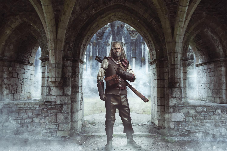 Geralt by Alexandra Brumley