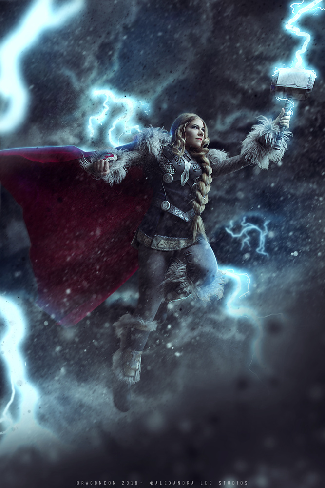 Mighty Thor by Alexandra Brumley