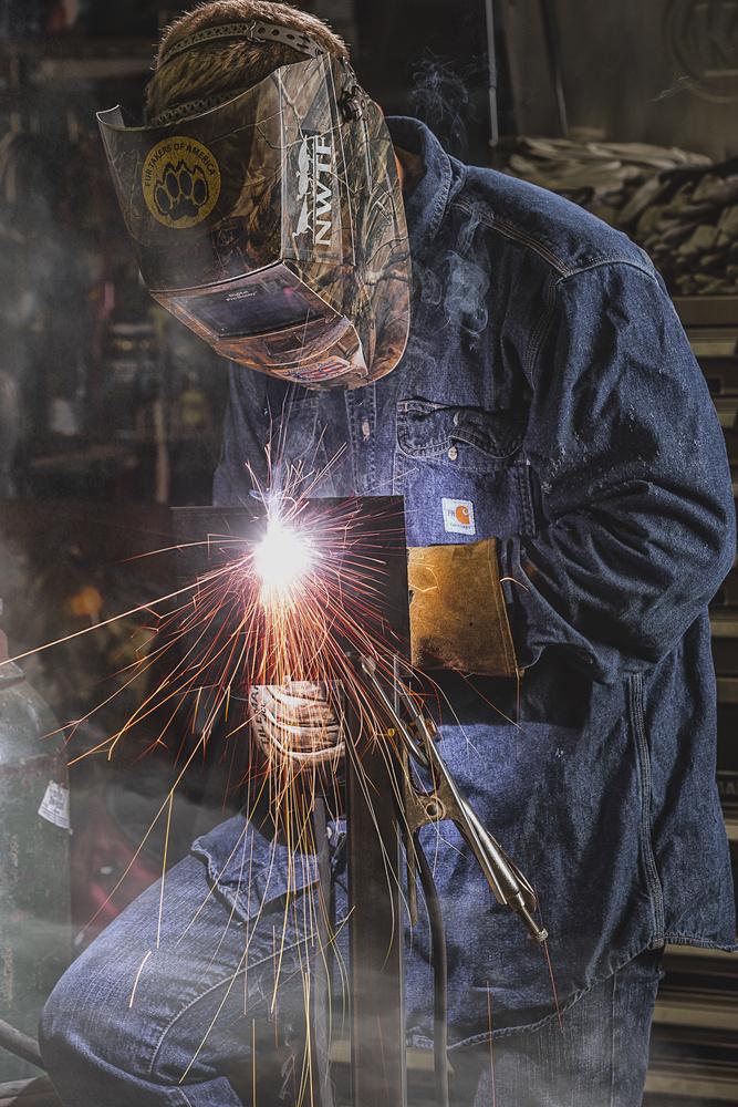 Getting in the work, by Dan Rowe