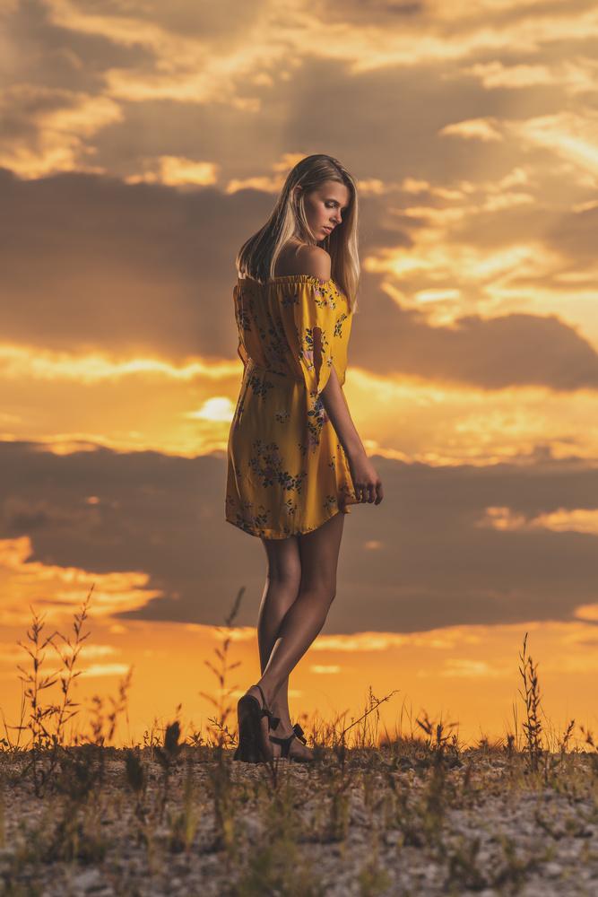 Sunset senior by Dan Rowe