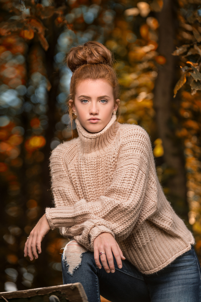Fall senior by Dan Rowe