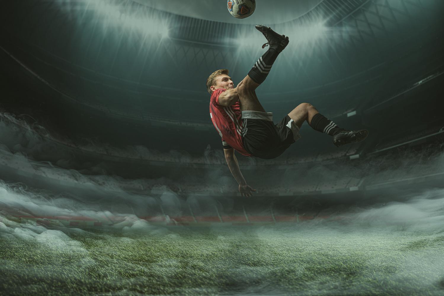 soccer senior by Dan Rowe