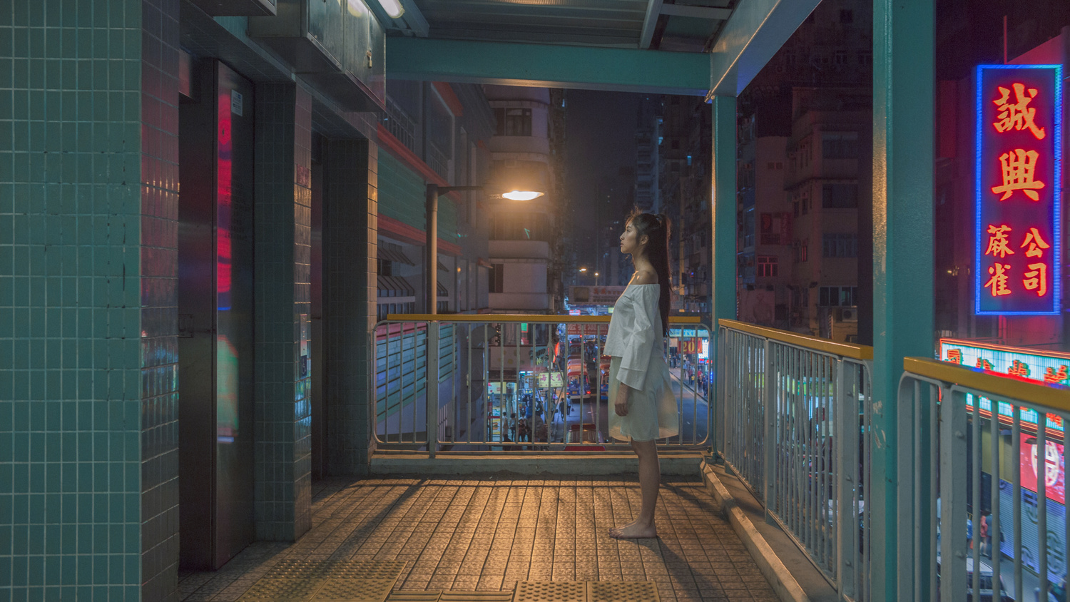 The Girl Roaming Around at Midnight by Sophie Cheung
