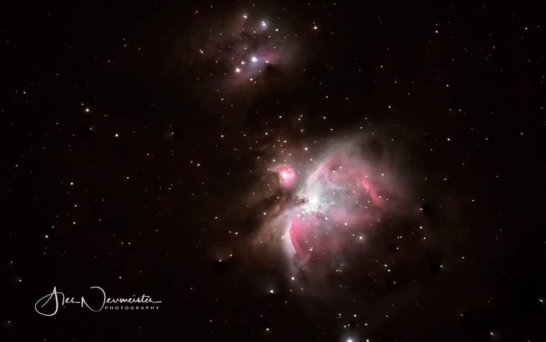 Orion nebulas by ales neumeister