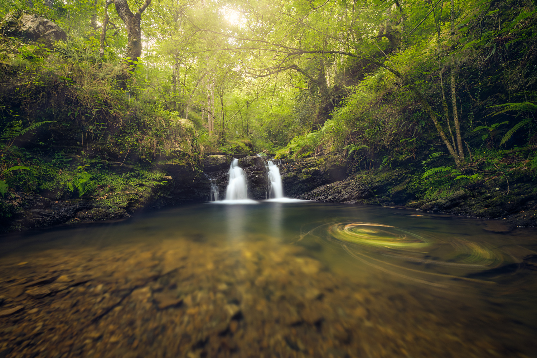 The Secret Waterfall by Prince Berkoh