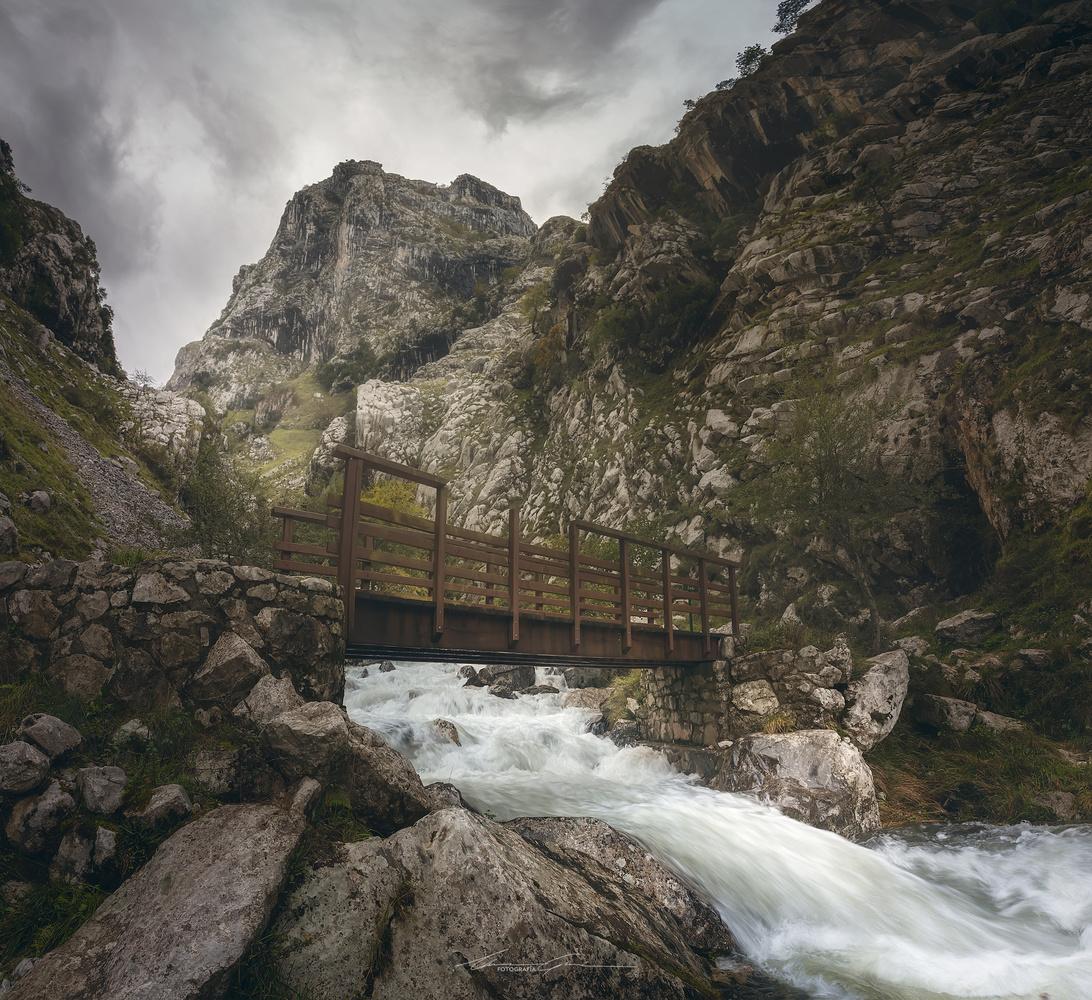 Bridge over troubled waters by Manu García
