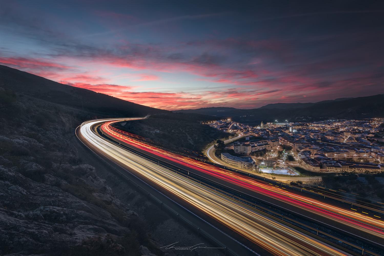 Sunset and beyond by Manu García