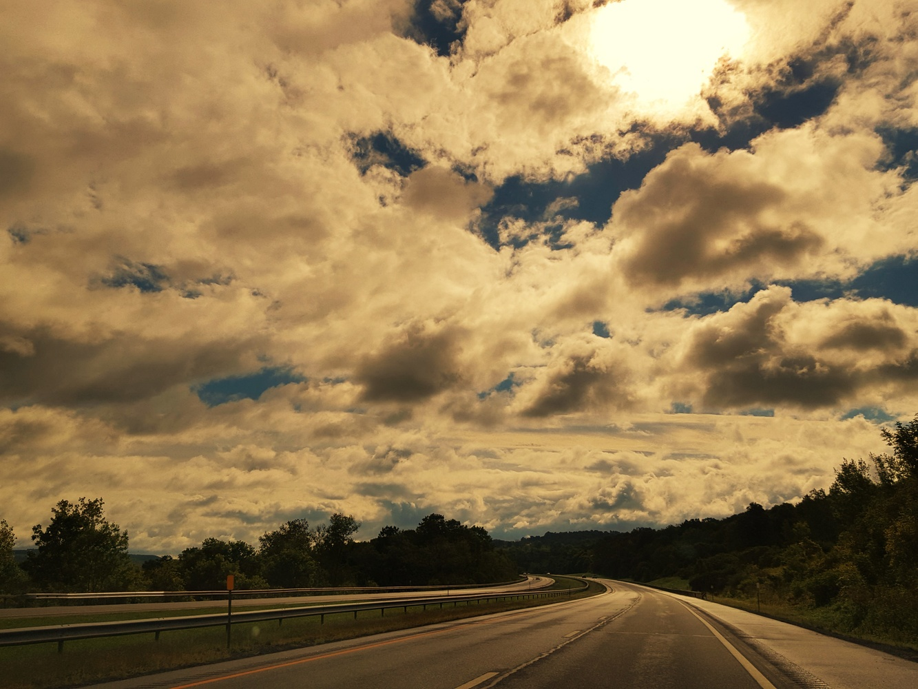 Highway to the Clouds by Michael Warner
