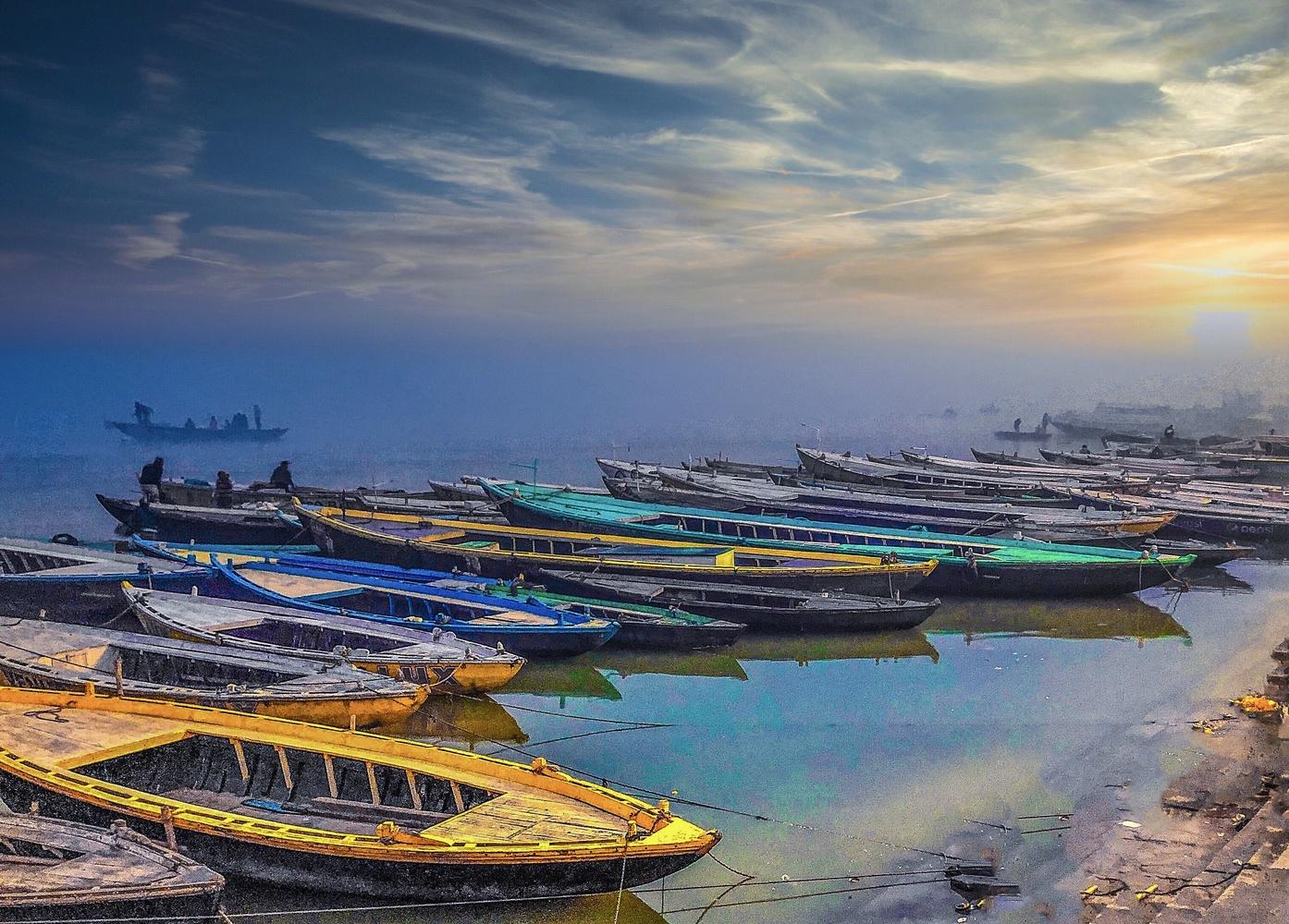 Varanasi by Anoop KULKARNI