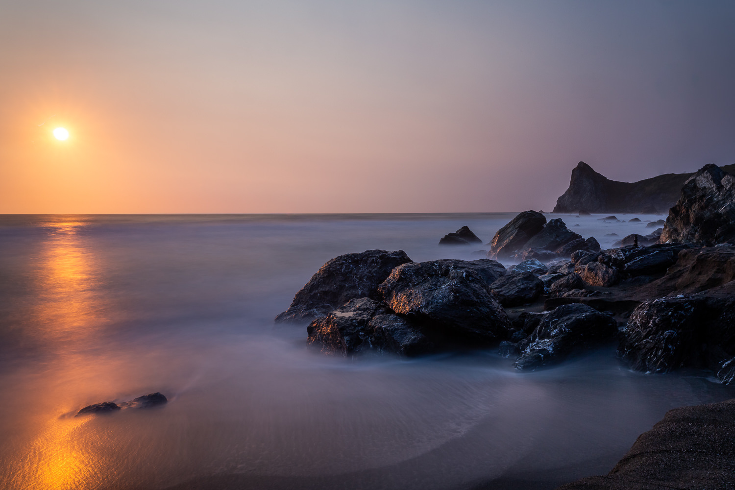 Northern California Pacific Coast Line by Kendrix Thomas