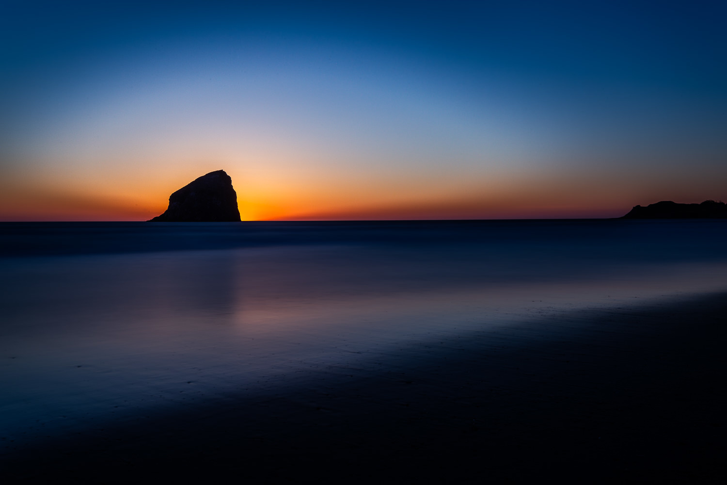 Cannon Beach at Sunset by Kendrix Thomas