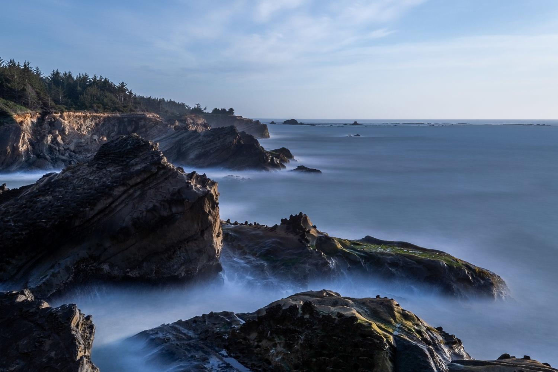 Blue Hour on the Oregon Coast by Kendrix Thomas