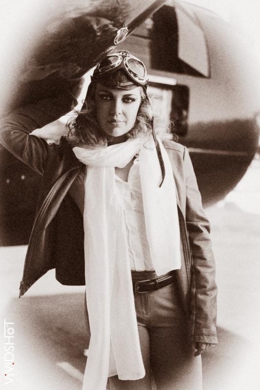 Amelia Earhart by Vividshot Photography