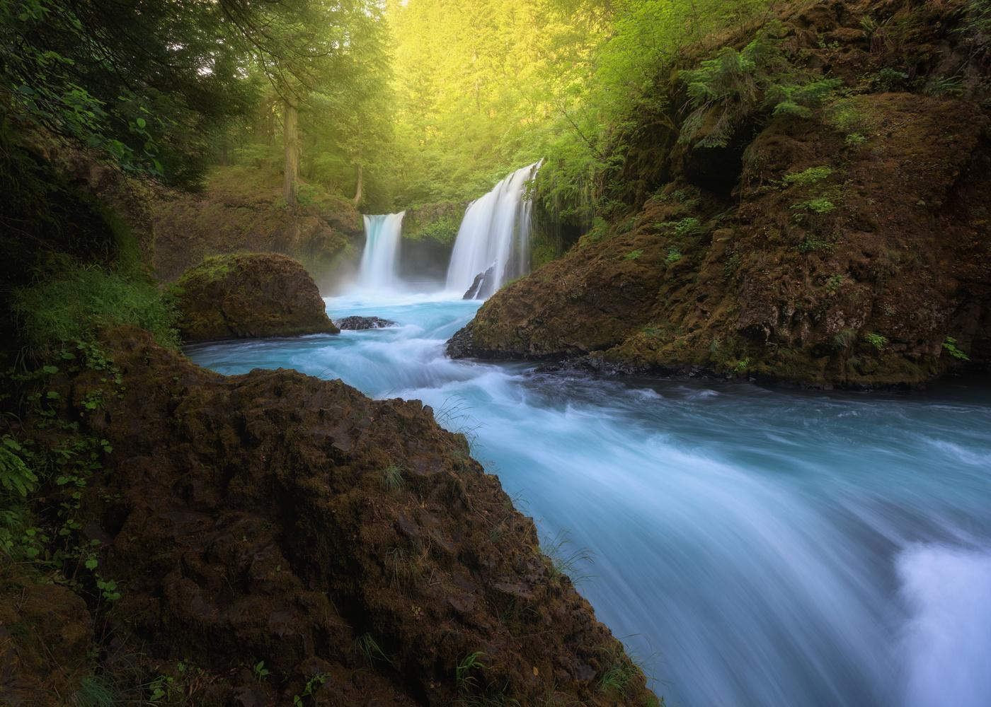 Spirit Falls by Hugo Valle