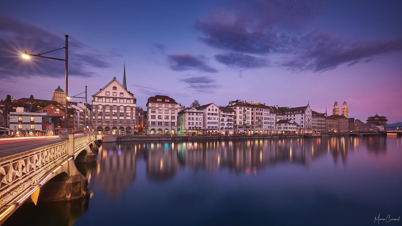 Limmatquai, Zürich by Mauro Caviezel