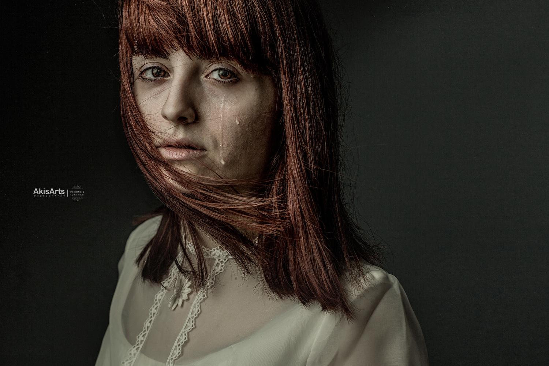 white dress by Akis Douzlatzis