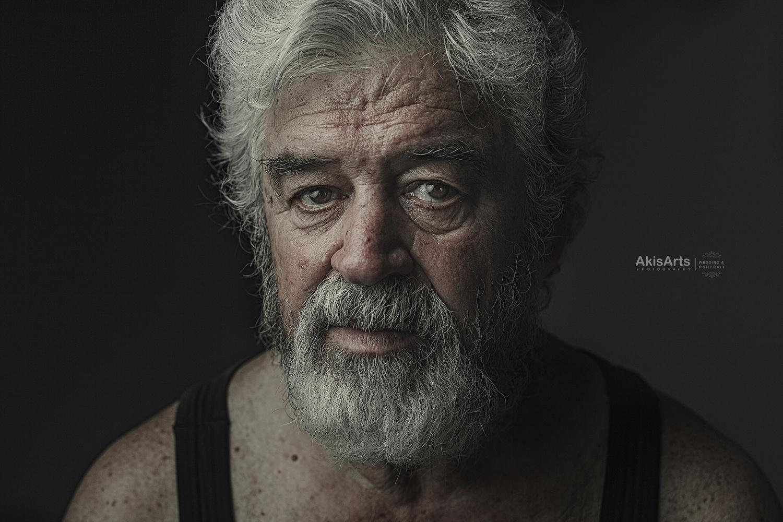 Man by Akis Douzlatzis