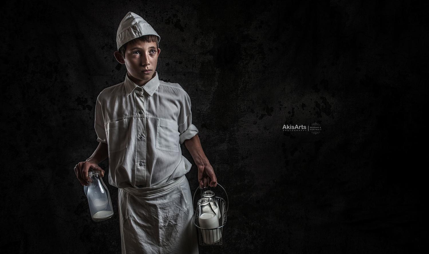 The Milkman by Akis Douzlatzis