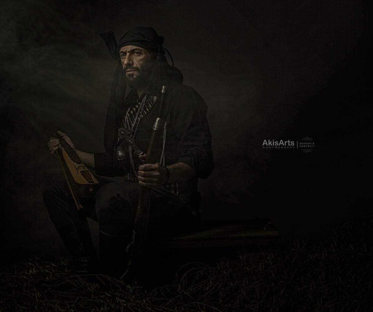 the warrior by Akis Douzlatzis