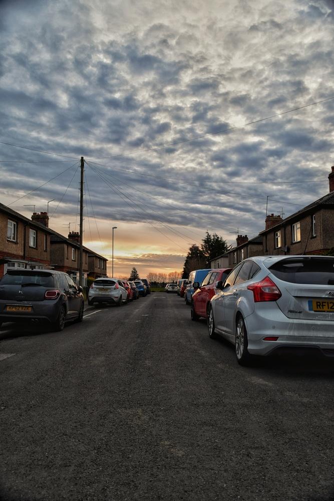 Sunset Street by Callum Tiney