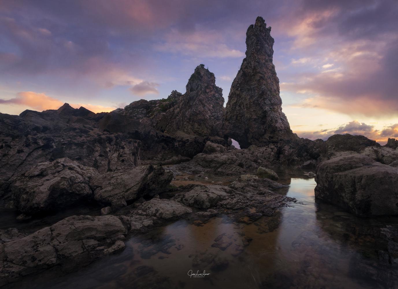Pendueles Beach by Jose Luis Llano