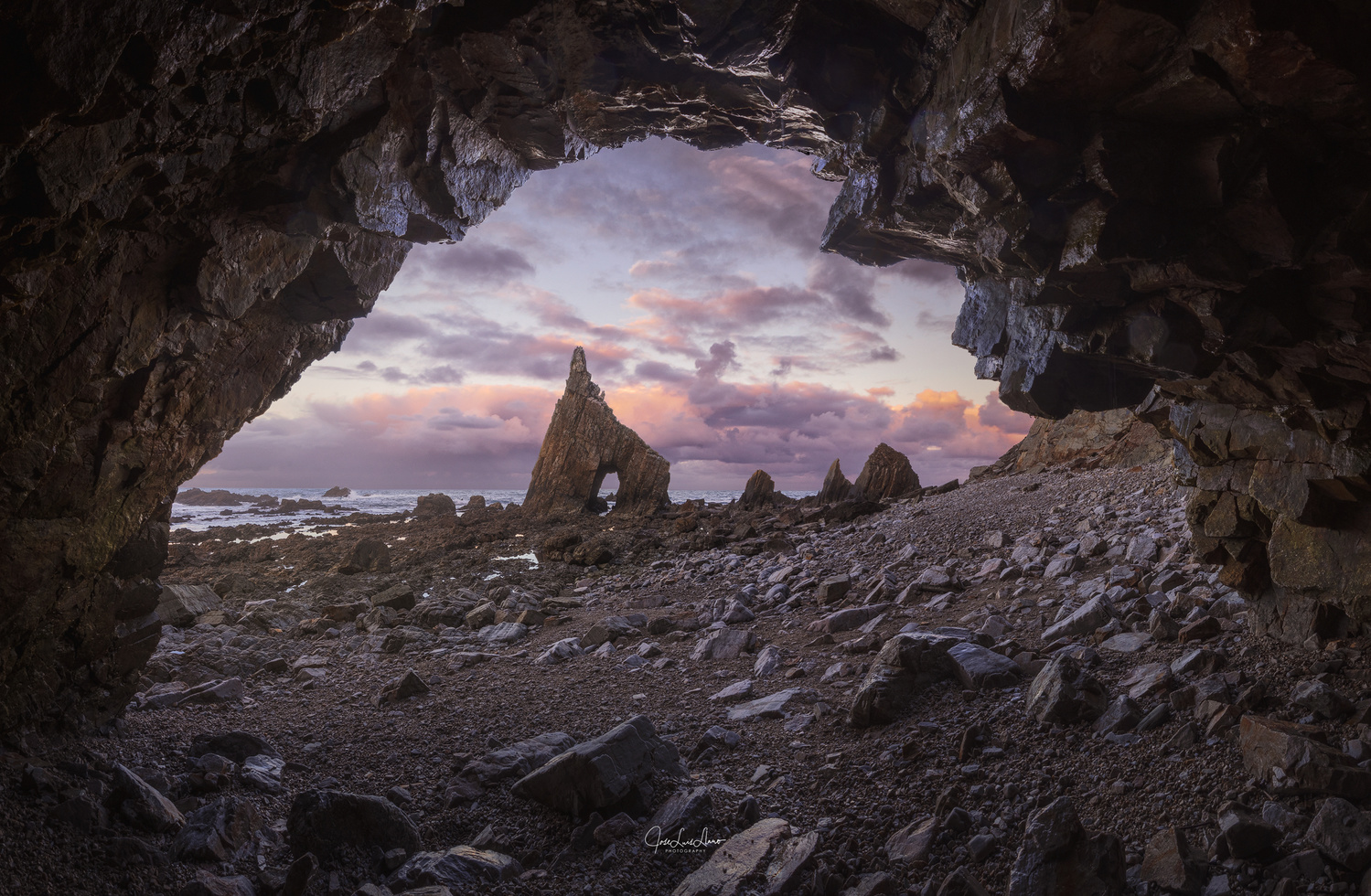THROUGH THE HOLE by Jose Luis Llano