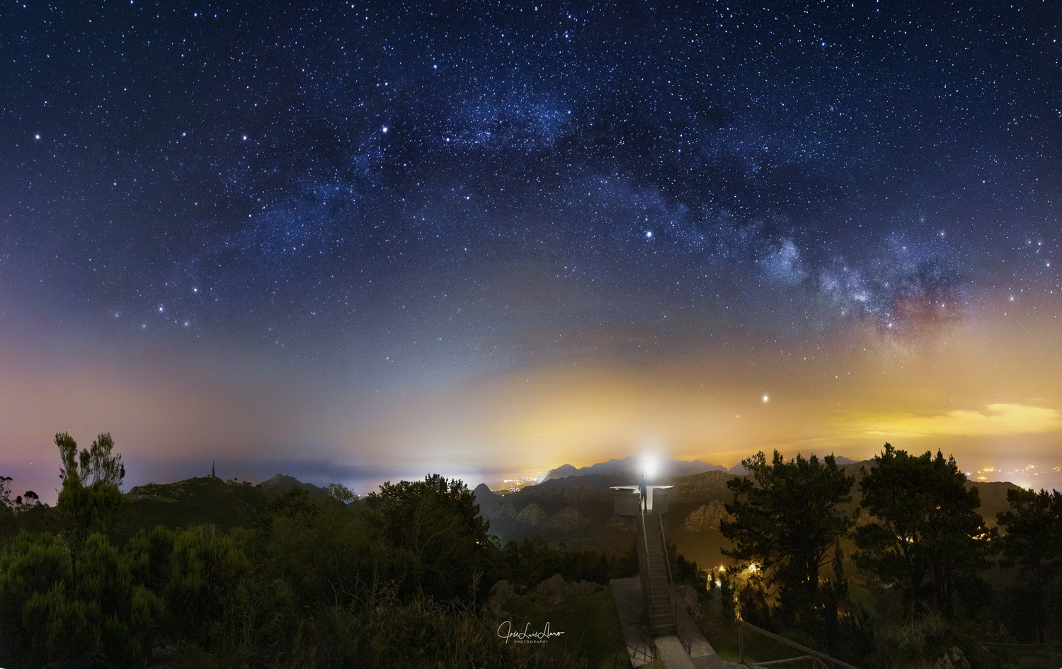 """A balcony to the stars"" by Jose Luis Llano"