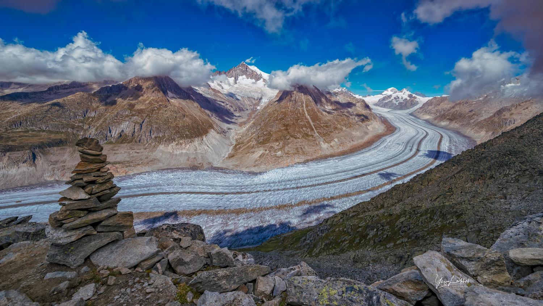 Alestch Glacier, Switzerland by Yaz Loukhal