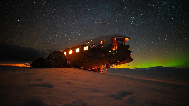 Sólheimasandur Plane Wreck 1 by Karl Anderson