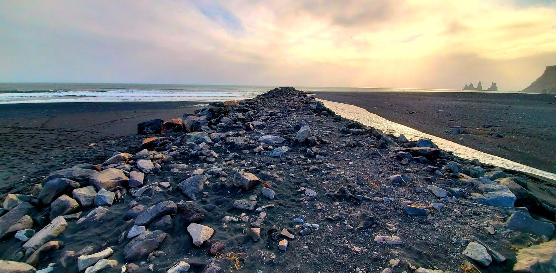 Black Sand Beach by Karl Anderson