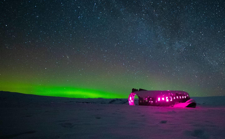 Sólheimasandur Plane Wreck 4 by Karl Anderson
