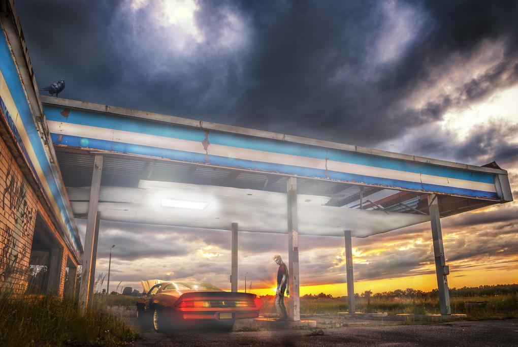 Abandoned sunset by Krists Afanasjevs