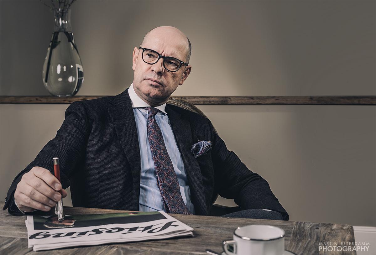 Editorial Portrait by Martin Peterdamm