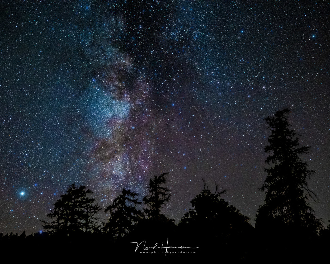 Milky Way by Nando Harmsen