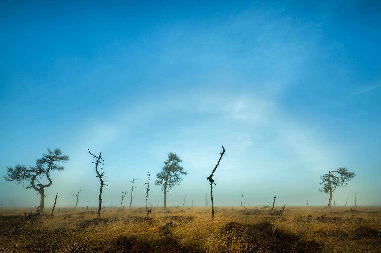 Fog bow at Noir Flohay by Nando Harmsen