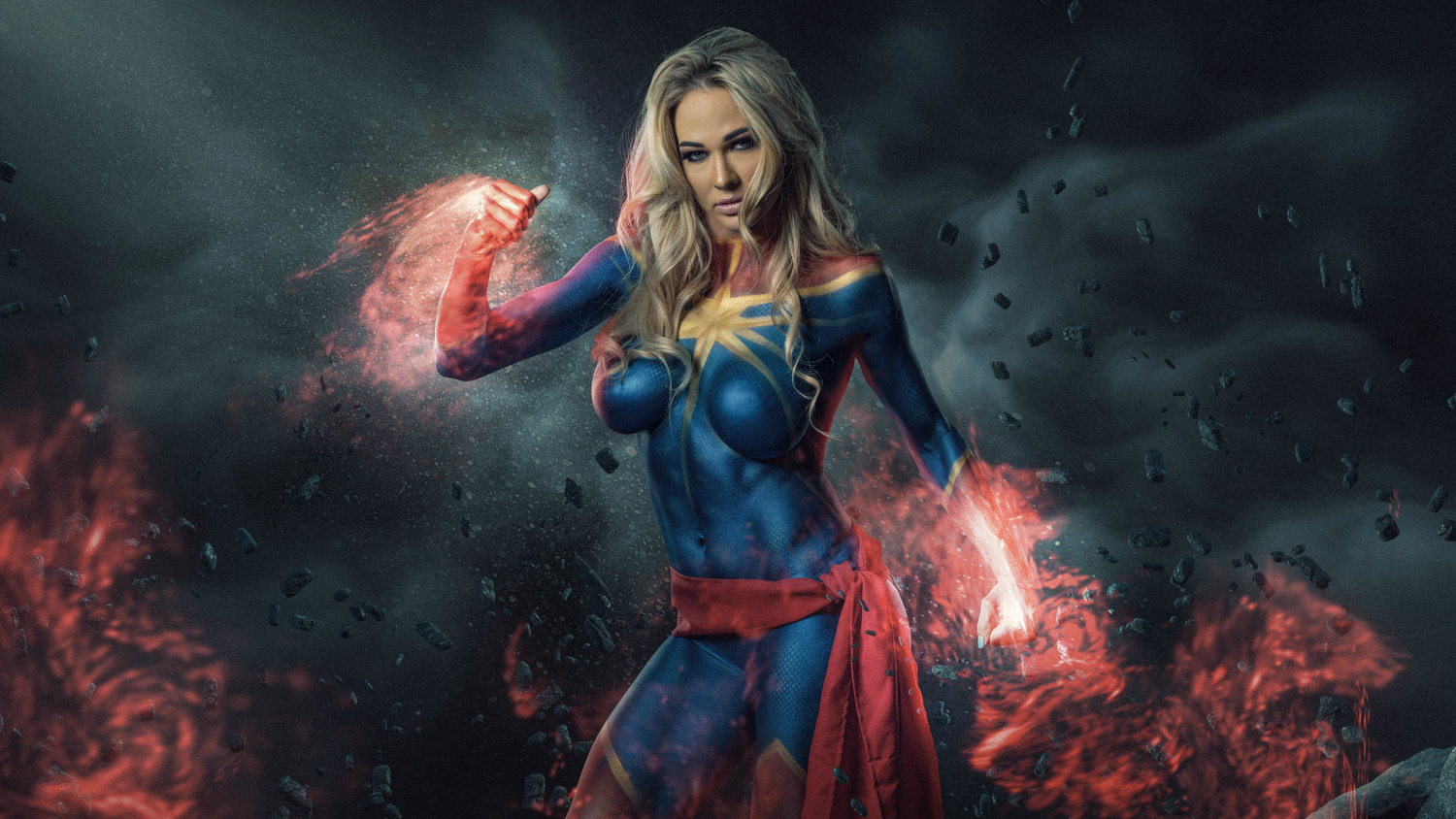 Captain Marvel Cosplay by Steve Casting