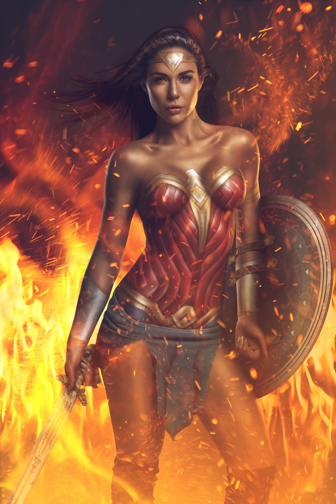 Wonder Woman by Steve Casting