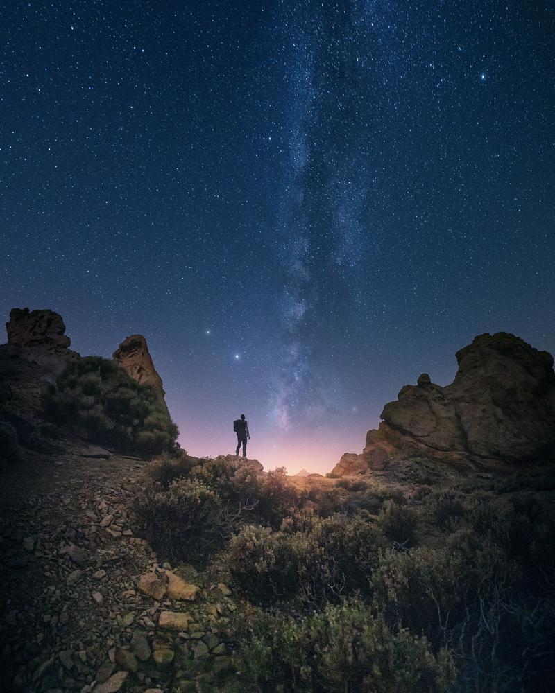 Milky Way over Teide national park by DaniGviews /Daniel